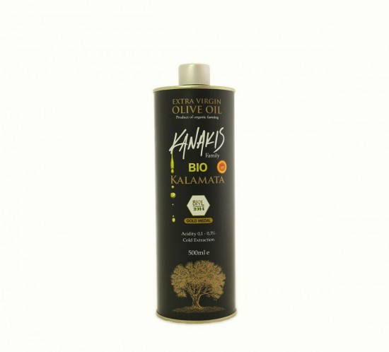 Extra Virgin Olive Oil BIO (500ml)