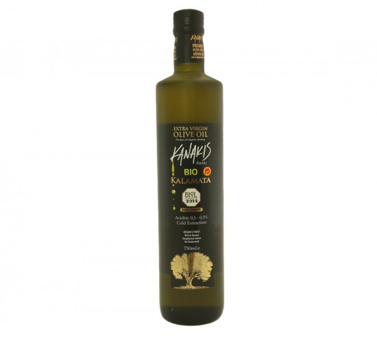 Extra Virgin Olive Oil BIO Glass (750 ml)
