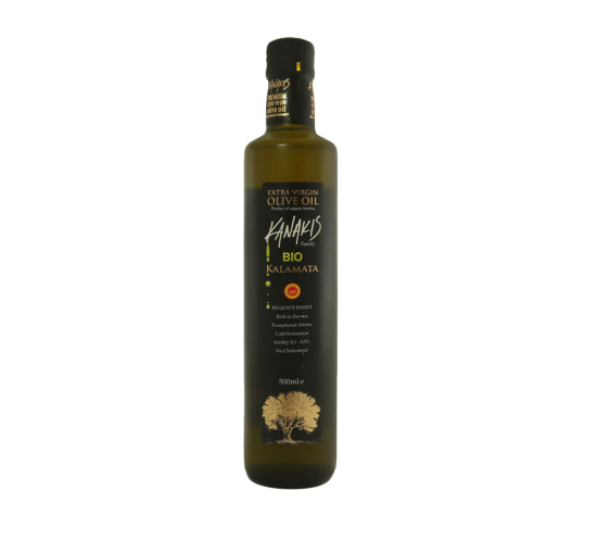 Extra Virgin Olive Oil BIO Glass (500 ml)